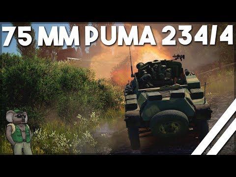 "War thunder - Sd Kfz234/4 ""Ash gets all the teamworks"""