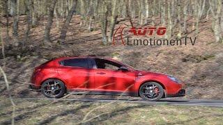 Alfa Romeo Giulietta QV Test Review Drive - AutoEmotionenTV