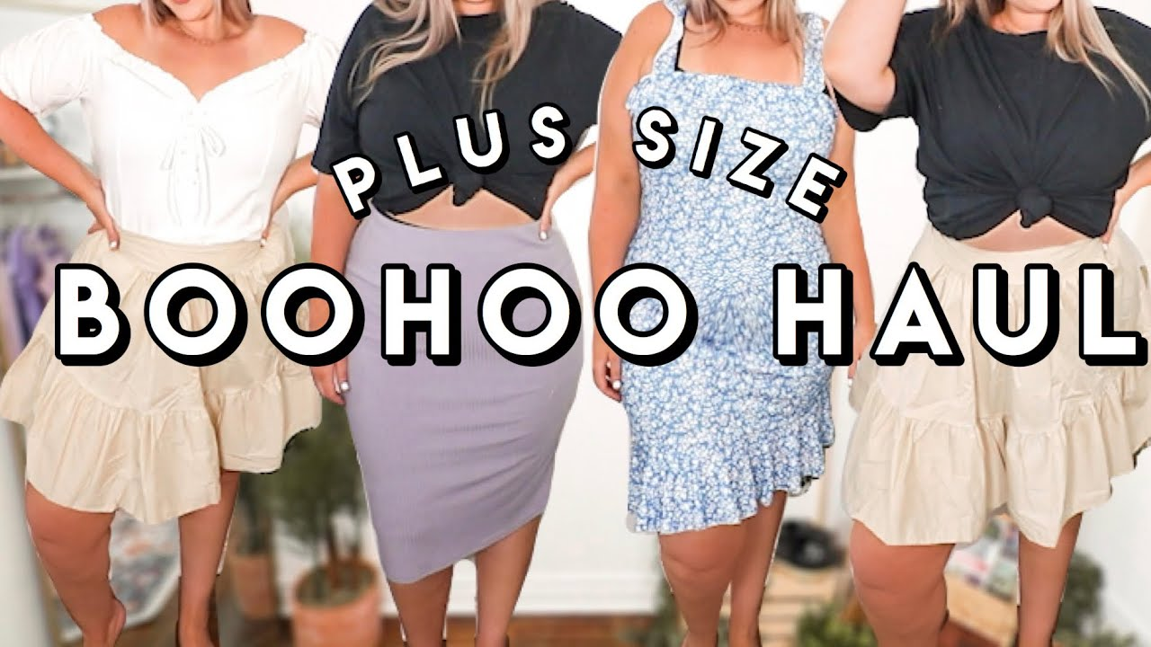 My FIRST Boohoo Haul! Plus Size Try On Haul (Size 18)