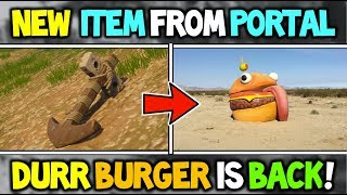 Fortnite *NEW* DURR BURGER IS BACK! + ANCHOR HAS APPEARED (Season 5 Story + Real Life Fortnite)