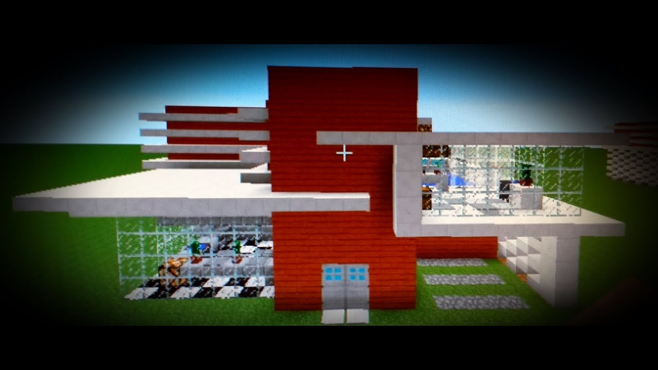 Constru o da casa moderna 1 minecraft youtube for Casas modernas no minecraft