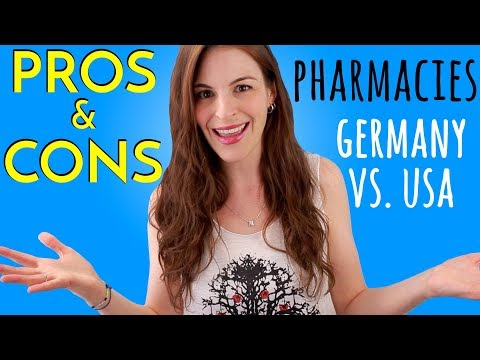 PHARMACIES: Differences in Germany vs. USA