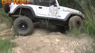 "VIDEO OFF ROAD ADVENTURE 4X4 ""OFF ROAD JEEP RUBICON CRASH JUNGKIR BALIK DI BUKIT"""