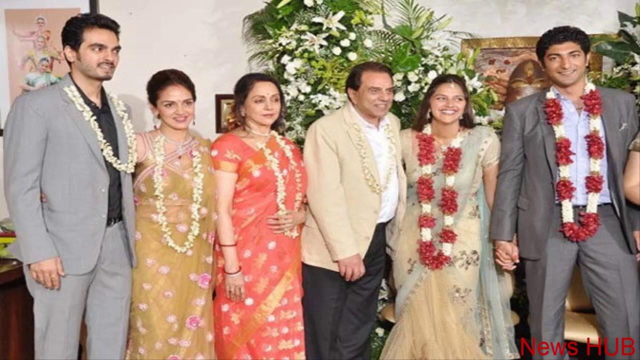 Rare Photos Of Dharmendra Family - hindi film stars hemamalini and ... for Dharmendra First Wife Daughter  110zmd