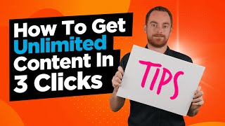 How To Create Unlimited Unique Content For Your SEO Campaigns