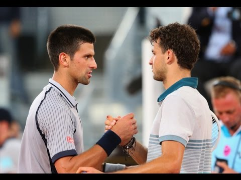 Grigor Dimitrov vs. Novak Djokovic 7-6(6), 6-7(8), 6-3 Mutua Madrid Open (R32) 07.05.2013.