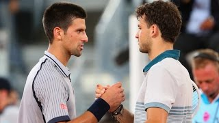 Grigor Dimitrov vs. Novak Djokovic 7-6(6), 6-7(8), 6-3 Mutua Madrid Open (R32) 07.05.2013.