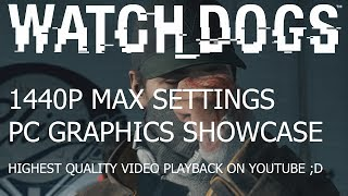 Watch Dogs PC Max Settings 1440p | HDTV Quality Playback