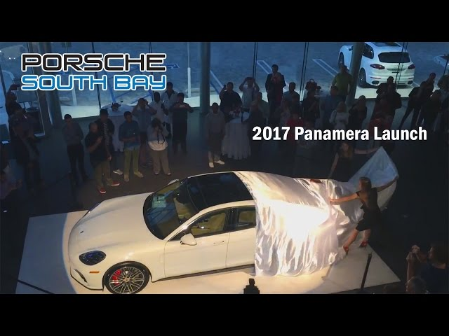 Porsche South Bay 2018  Panamera Launch event