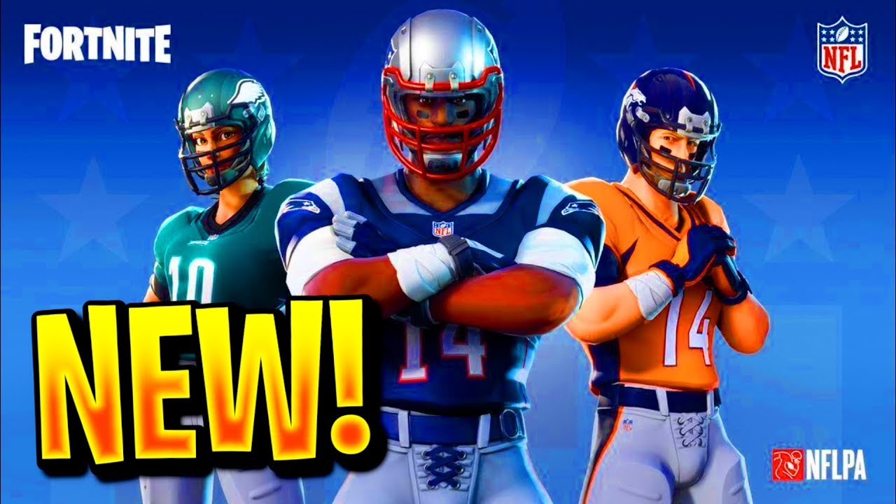 FORTNITE NFL SKINS TRAILER! NEW