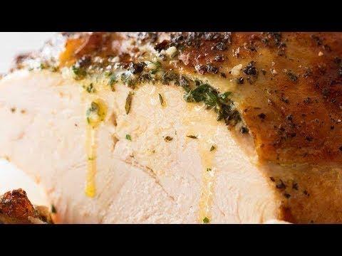 Slow Cooker Garlic Herb Turkey Breast