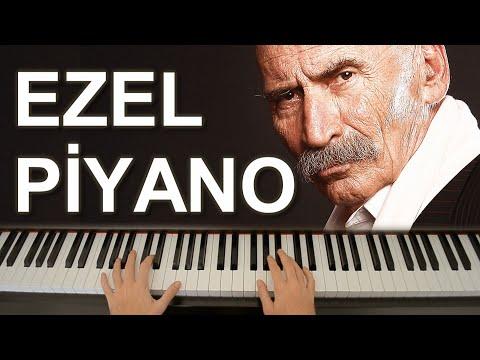 Ezel Dizi Müziği Piyano Tutorial - Synthesia