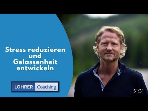 Stress Reduzieren Und Innere Gelassenheit Entwickeln - Teil1 EM10 2018