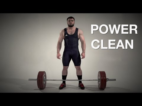 Power CLEAN / Olympic weightlifting and crossfit