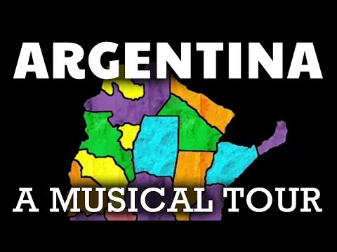 Argentina Song for Kids and Adults | Argentina Geography & Culture Video