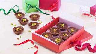 Chocolate Ganache Tarts with Pistachios Recipe – Cooking with Bosch