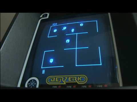 Classic Game Room HD - BERZERK for Vectrex review