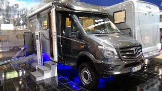 "2017 Hymer ML-T 570 ""60Edition"" - Exterior and Interior - Caravan Show CMT Stuttgart 2017"