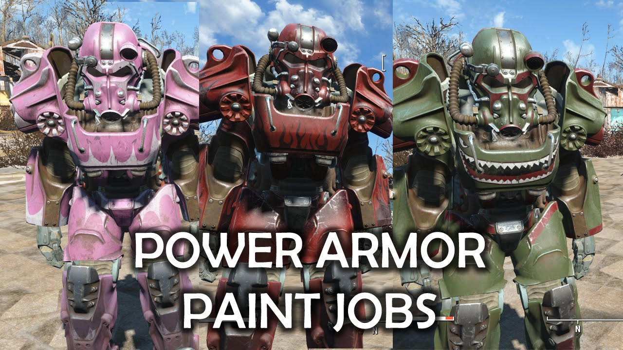 Where To Get Institute Power Armor Paint Job