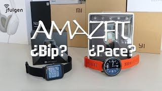 Amazfit ¿Pace ó Bip?