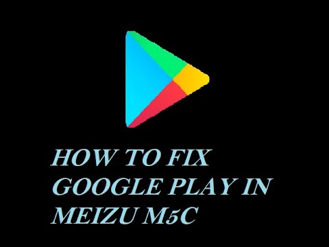 How To Fix Meizu M5c Google Play Services Problem (cant Access Remote Server Address) English