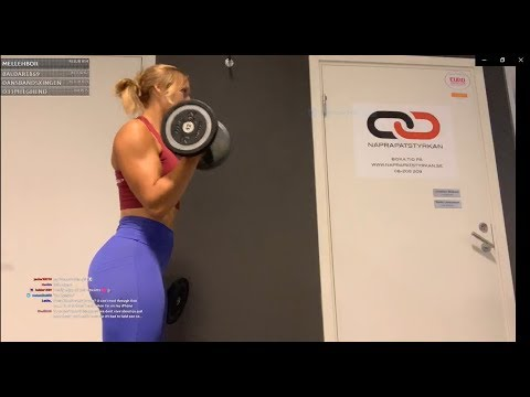 Ajvie Workout Livetream- Gymstream Legs And Mix
