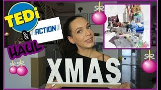 Tedi & Action Deko Haul/Weihnachtsdeko/Neue Farben/Mel´s Kanal