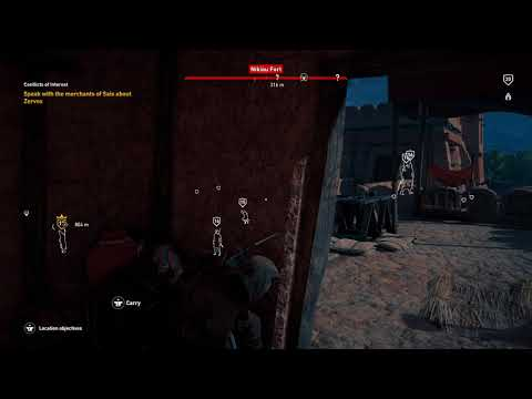 "Assassin's Creed Origins Nikiou Fort ""Stealth"""