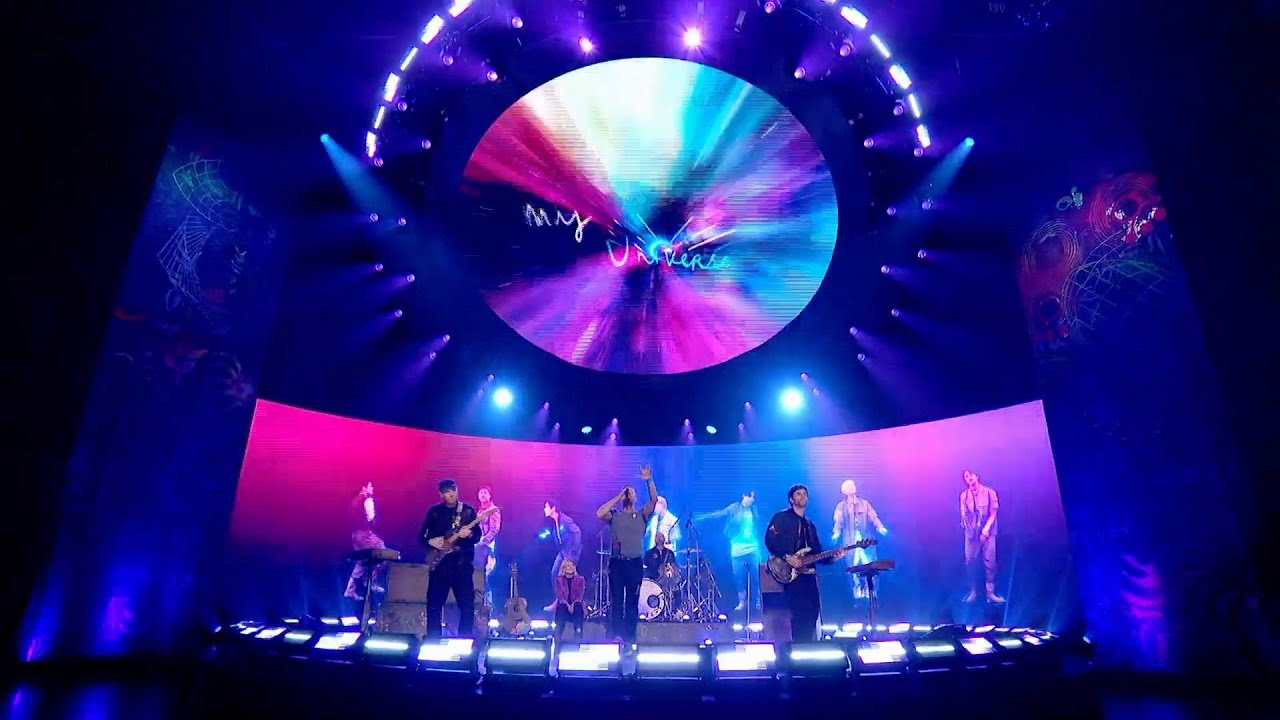 Download Coldplay X BTS - My Universe (Live on The Graham Norton Show)