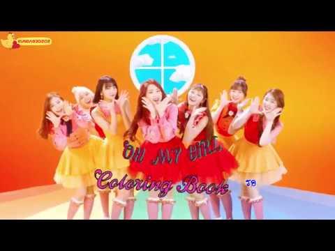 [Karaoke/Thaisub] OH MY GIRL (오마이걸) - Coloring Book (컬러링북)