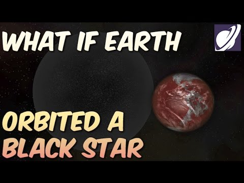 Could Earth Survive Orbiting a Black Star?!