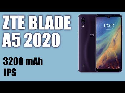 Обзор смартфона ZTE Blade A5 2020. IPS, 3200 MAh
