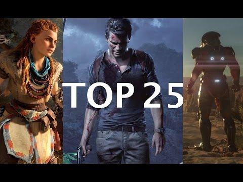 TOP 25 DES JEUX PS4 POUR 2016 (selon janvier 2016)