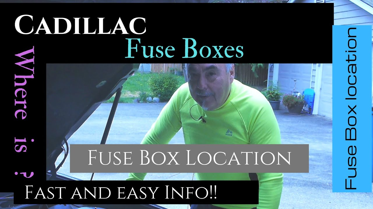 [DIAGRAM_3ER]  Cadillac | Fuse Box | Location diagram | Front and Rear | 1998 Deville -  YouTube | 1998 Cadillac Fuse Box |  | YouTube