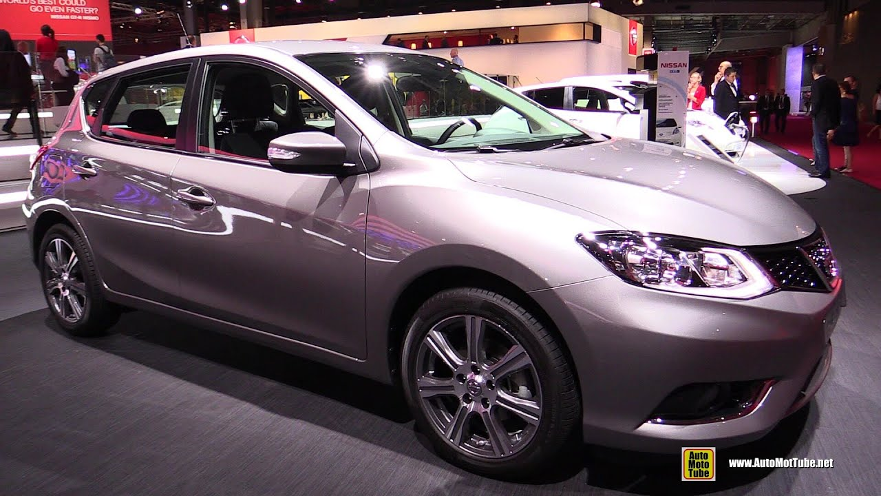 2015 nissan pulsar acenta exterior and interior walkaround debut at 2014 paris auto show youtube. Black Bedroom Furniture Sets. Home Design Ideas
