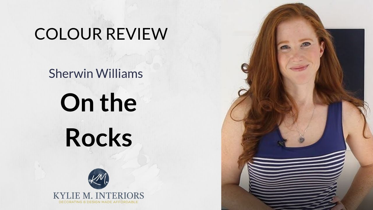 Paint Colour Review Sherwin Williams On The Rocks Sw 7671 Youtube