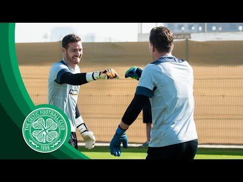 Celtic FC - #BHOYSINDUBAI☀️️: Goalkeeper Training
