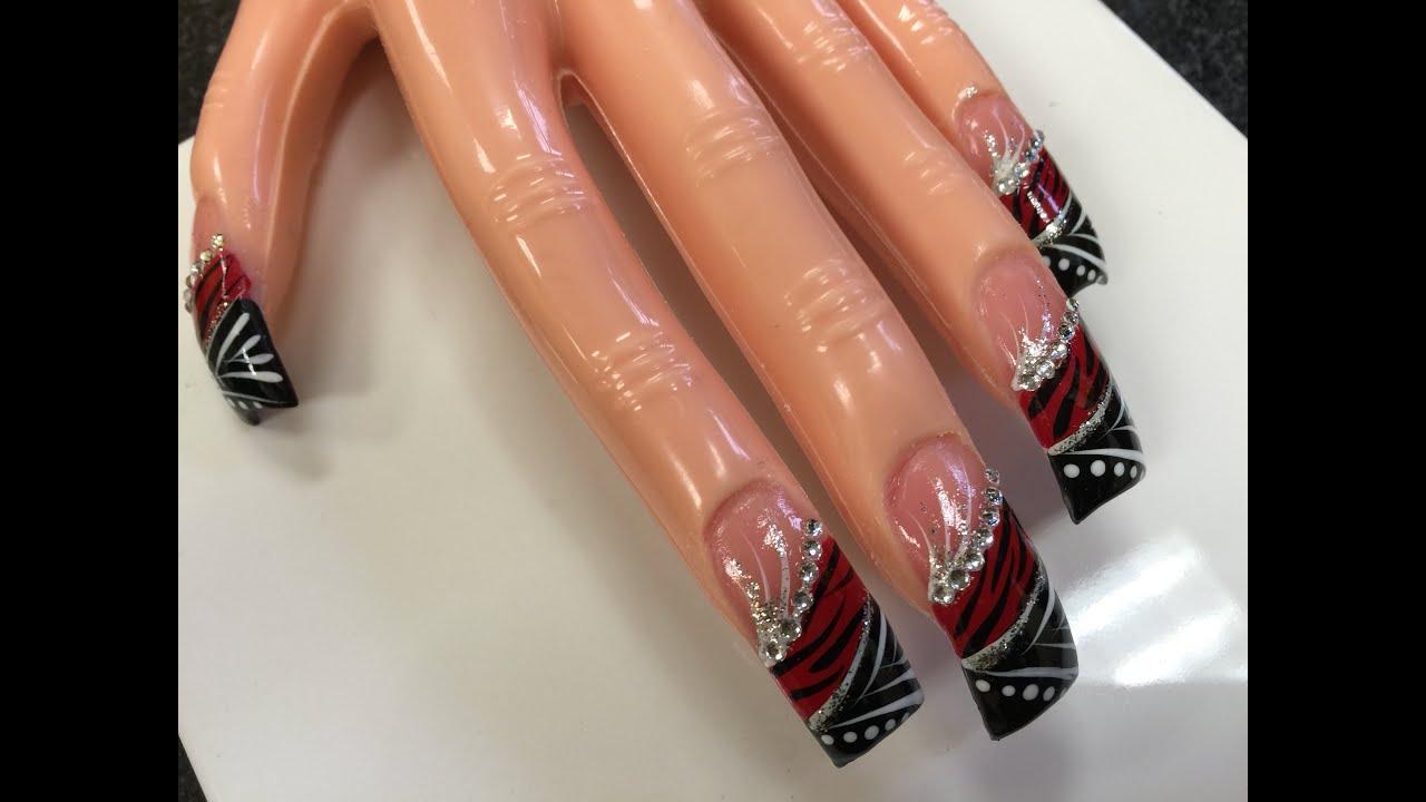 acrylic nails duck
