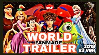 【Fanmade】キングダムハーツ3:ディズニーワールド紹介まとめ映像