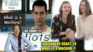 Foreigners React to What is a machine? - Funny ...