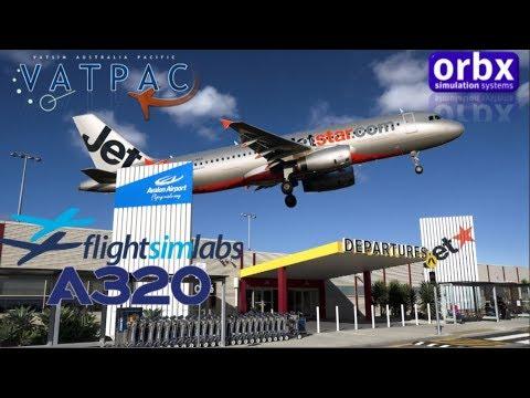 FSlabs A320 On Vatsim Milkrun Birthday. Avalon To Sydney