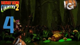Donkey Kong Country 2 Diddy's Kong Quest Episode 4 Swamp Lands