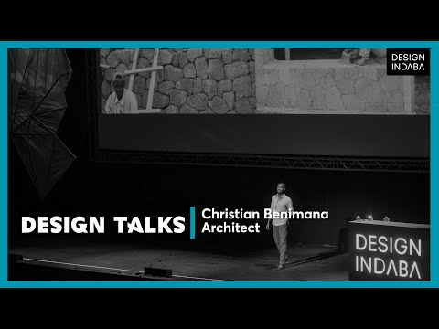Christian Benimana on architecture that serves the community