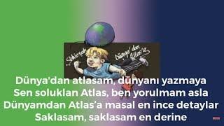 Şehinşah - DÜNYADAN ATLASA ( Lyrics-Sözleriyle )