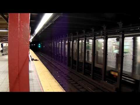 MTA New York City Subway R32 on Line C Eighth Avenue Local
