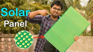 How I Made a Solar Panel Using…
