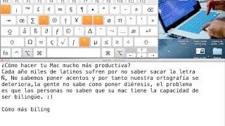 Aprende A Cambiar El Idioma, Sacar La Letra ñÑ, Acentos, Y Diéresis En Tu Mac.
