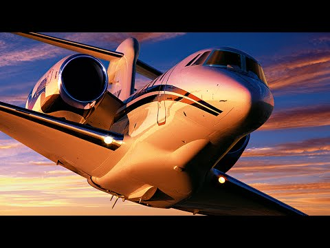 Top 10 Luxurious Private Jet
