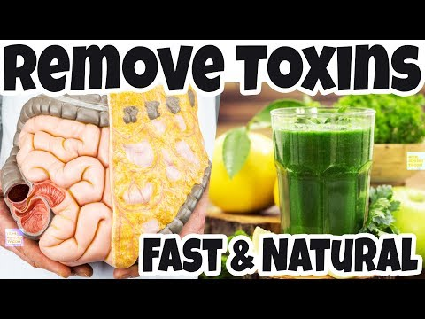 Remove All TOXINS From the BODY in 3 DAYS: Help PREVENTS CANCER & Remove Toxins from Liver, Colon