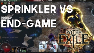 Molten Strike Brutus Lead Sprinkler Build Vs. End-Game Bosses - Path of Exile